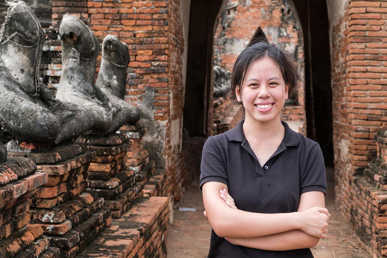 Khun Nan in Wat Chaiwatthanaram.