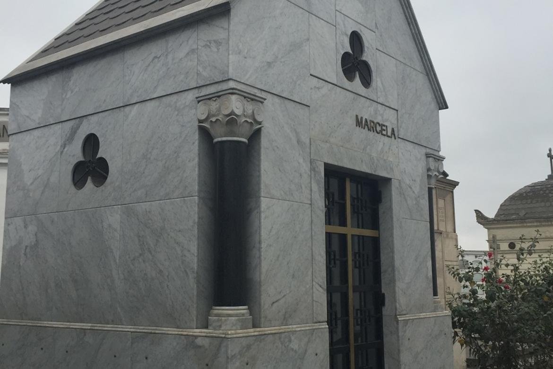 Marcela Perez de Cuellar's mausoleum