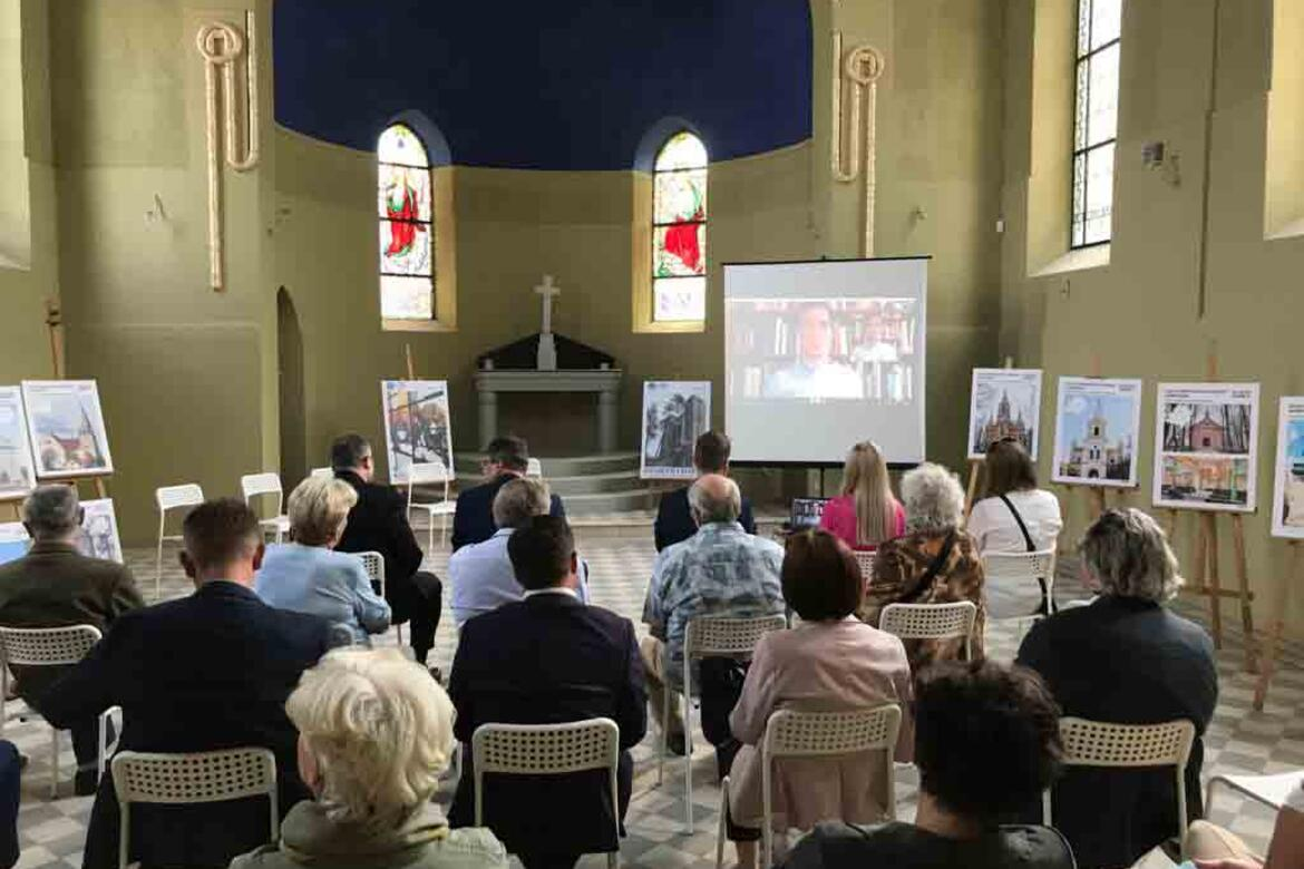World Monuments Watch Director Yiannis Avramides joined Watch Day activities via videoconference.