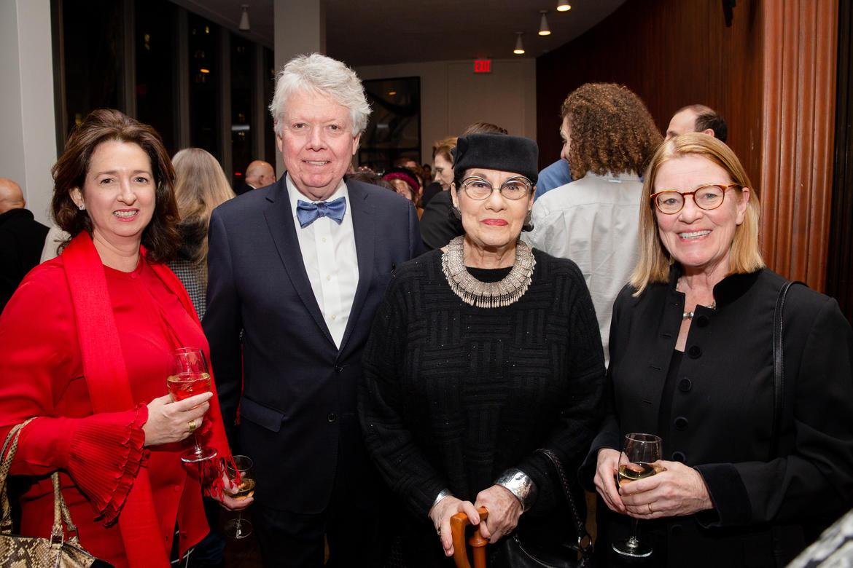 From left, Ewi Shafran, Jack Kerr, Helen Drutt English, and Nora Kerr.