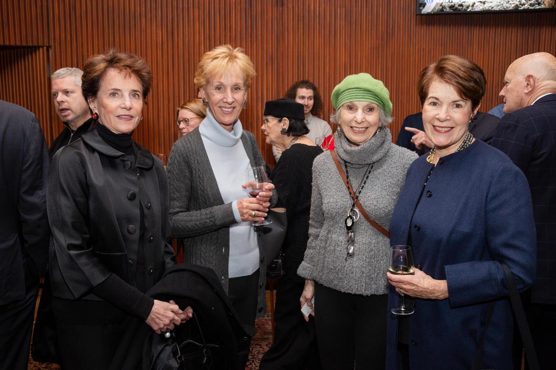 From left, Nancy Novogrod, Cathy Schleussner, Patricia Schoenfeld, and Brook Berlind.