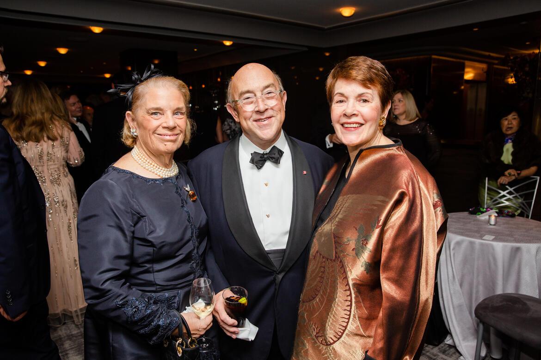 From left, Fernanda Kellogg, Kirk Henckels, and Brook Berlind.