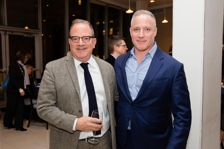 From left, James Reginato and Robert Goldrich.