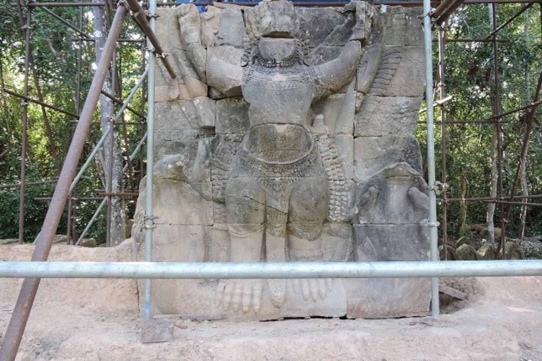 Garuda 39 at the beginning of restoration