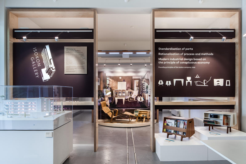Installation in the Isokon Gallery