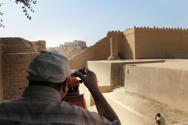 Ishtar Gate, topographic survey
