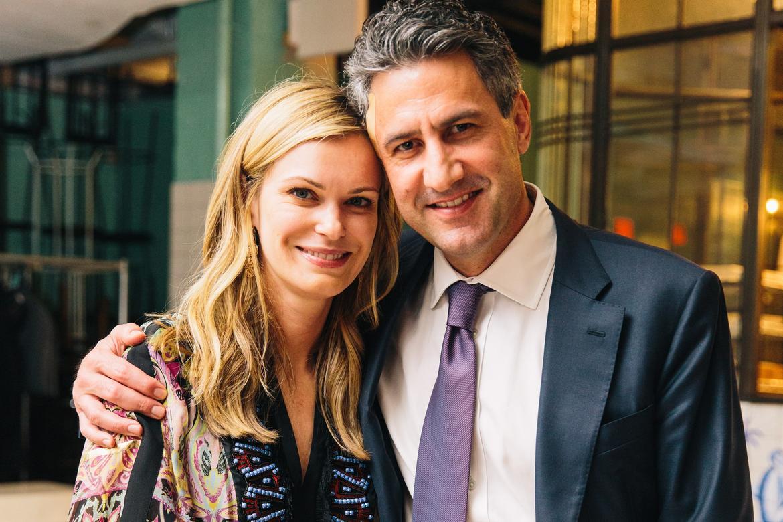 Melissa and Michael Stewart.