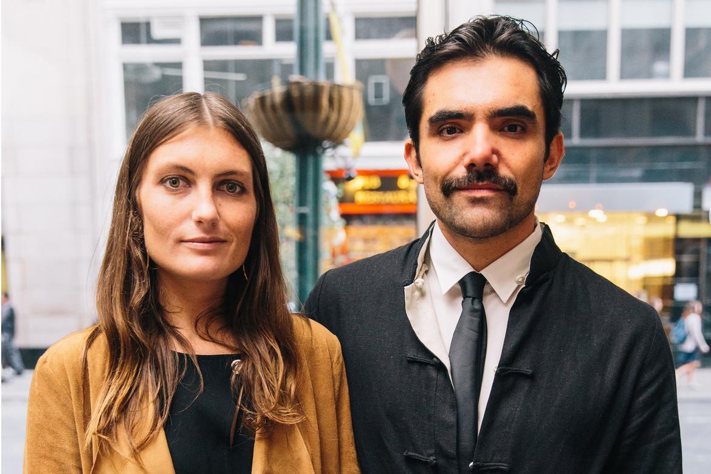 Mariel Lebrija and Jose Cavazos.