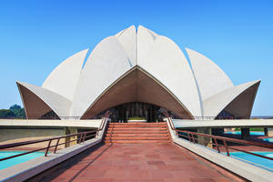 Lotus Temple, Bahá'í House of Worship (1986)