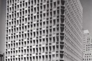 Paul Rudolph's Blue Cross Blue Shield building, Boston.