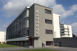 The Bauhaus workshop wing