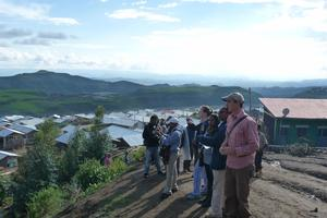 Students from Columbia University and Addis Ababa University participated in the field school