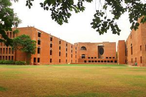 Louis Kahn Plaza in IIM Ahmedabad's Heritage Campus