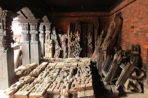Fragments of Char Narayan Temple, Nepal