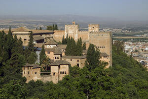 View of the Alhambra from a distance, 2011