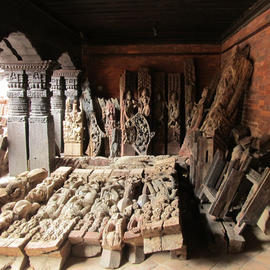 Fragments of Char Narayan Temple, Nepal