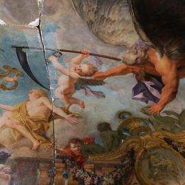 Details from Chancellerie d'Orléans, Paris, France.