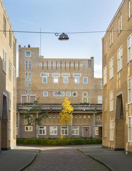 Justus Van Effen Complex, winner of 2016 World Monuments Fund/Knoll Modernism Prize