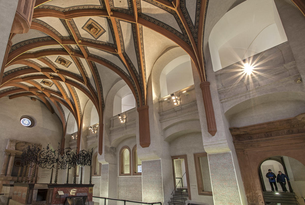 Pinkas Synagogue World Monuments Fund