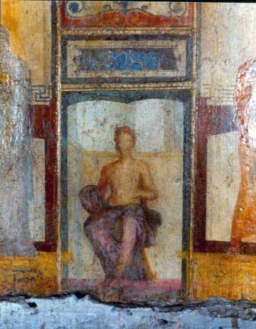 Roma, Domus aurea, affresco