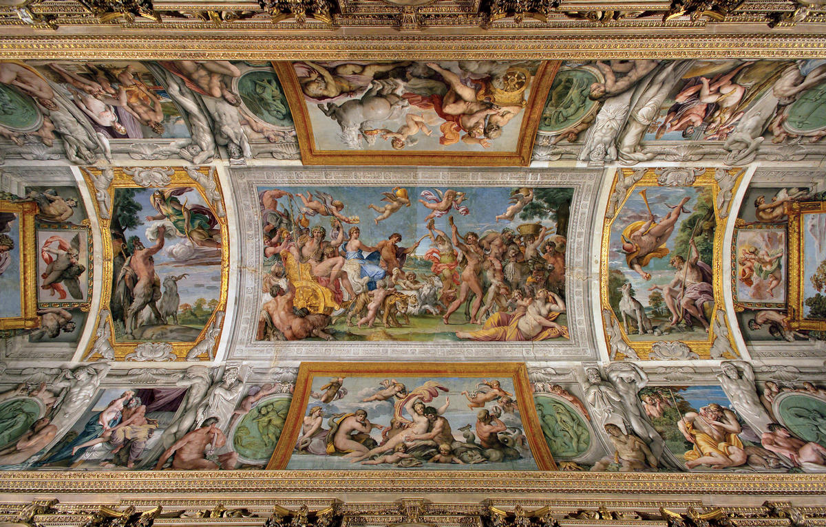 Carracci Gallery At the Palazzo Farnese | World Monuments Fund