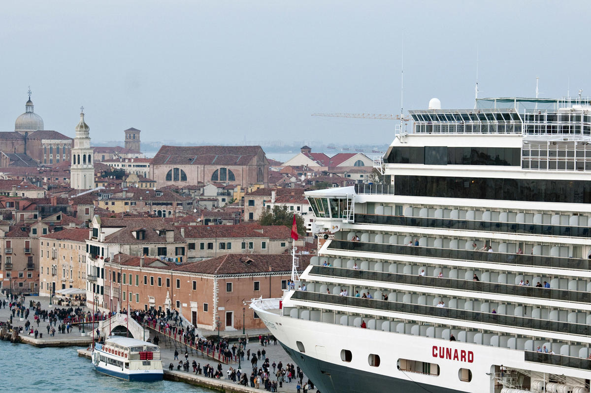 Venice World Monuments Fund - Cruise ships in venice port
