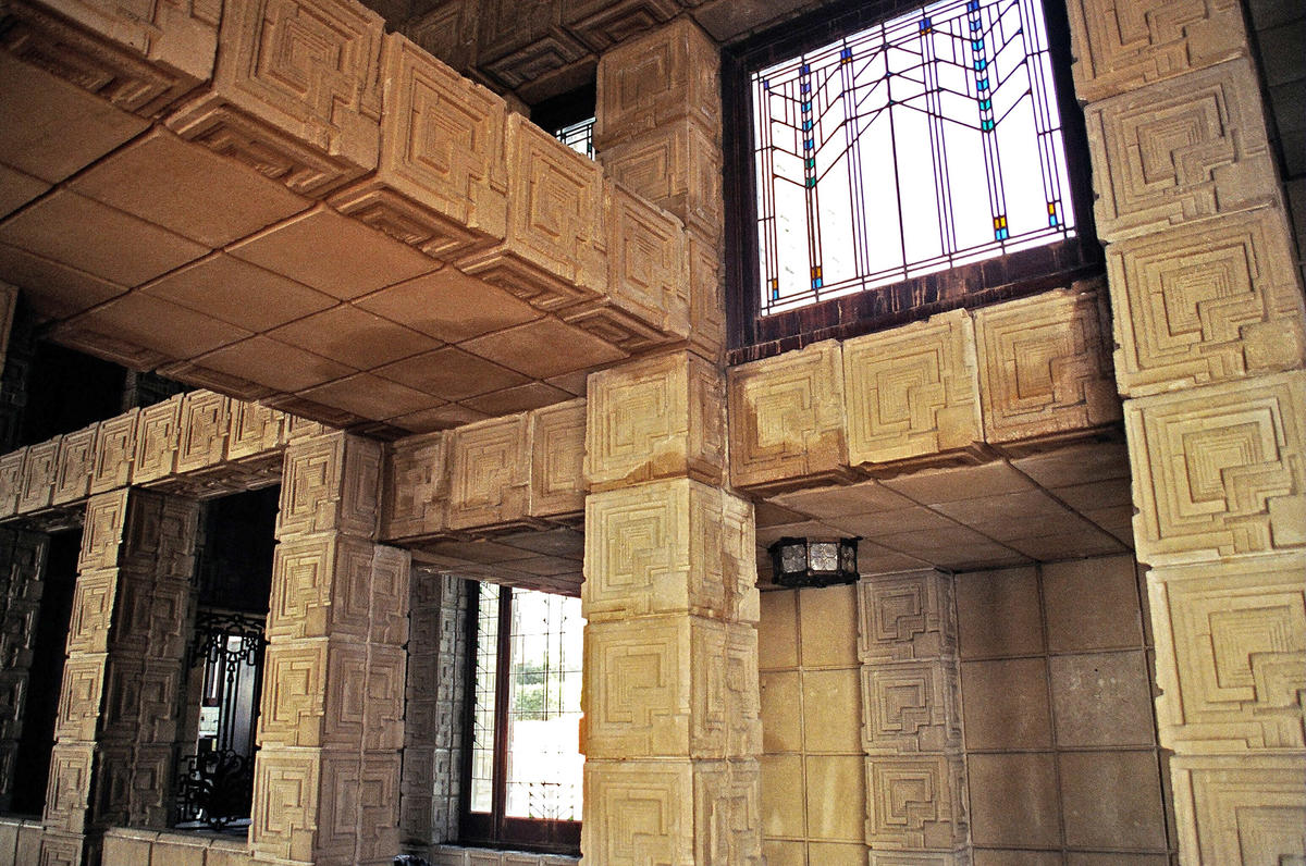 Ennis Brown House World Monuments Fund
