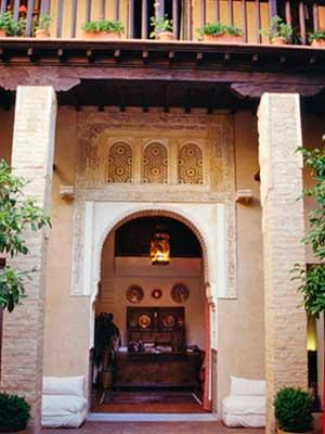 Moorish houses of granada world monuments fund for Moorish homes