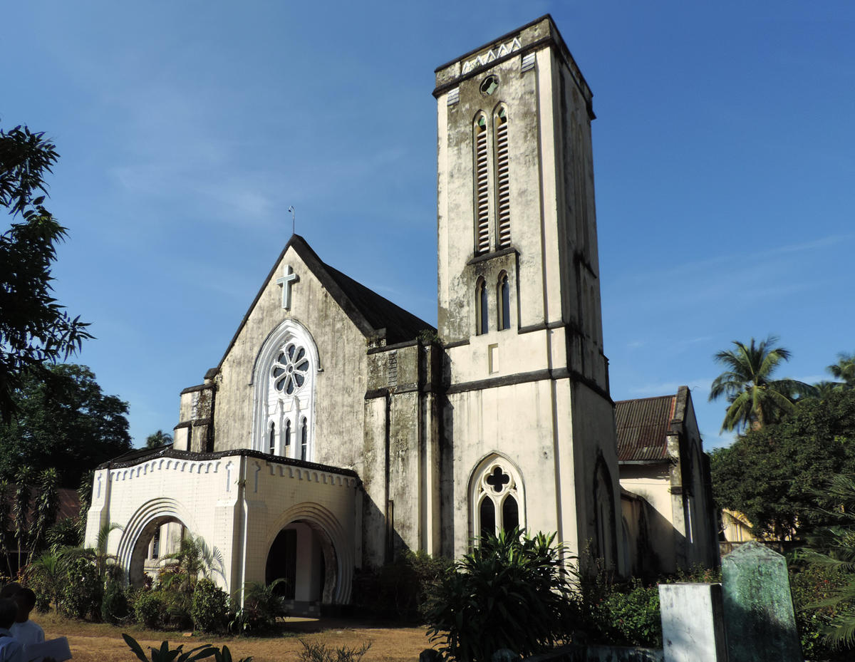 First baptist church of mawlamyine world monuments fund for First ch