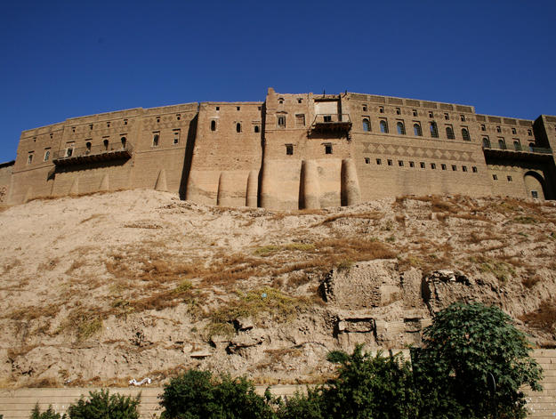 Erbil Citadel, photo courtesy of HCECR