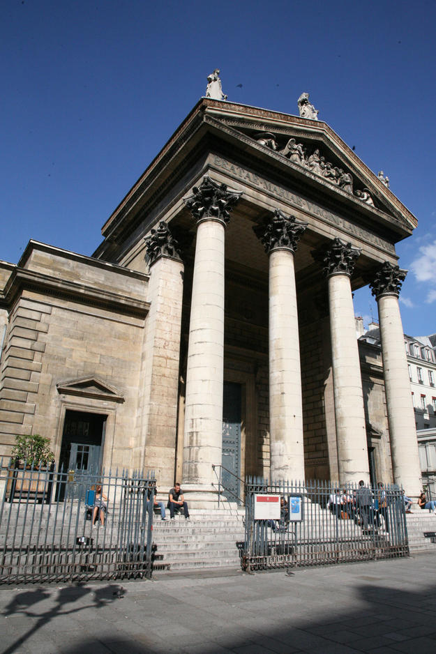 Façade of Notre-Dame de Lorette, 2015