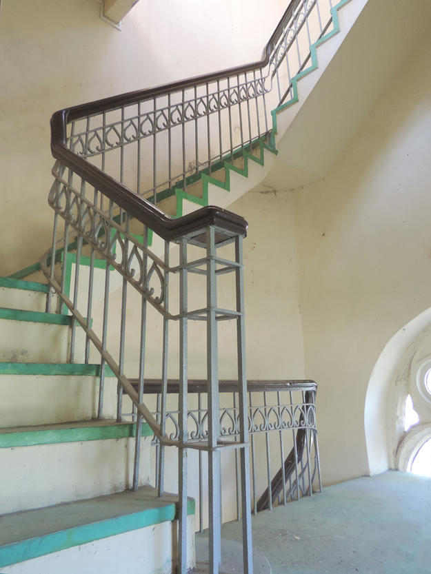 Belltower staircase, 2016. Photo: Tim Webster.