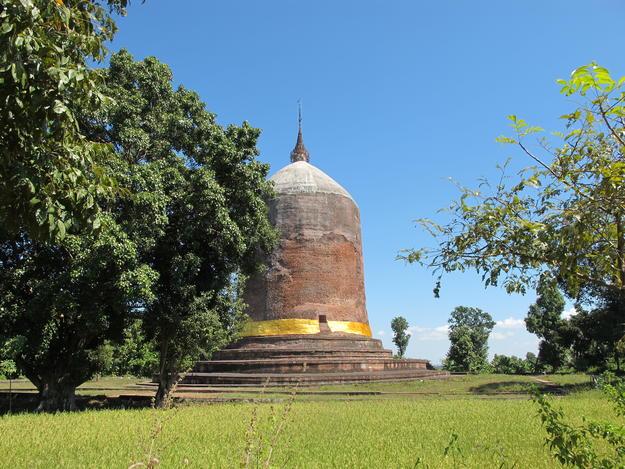 Sri Ksetra's Bawbawgyi Stupa was the subject of WMF's laser scanning training