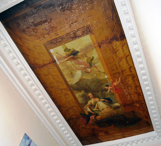 William Kent ceiling, North Hall, following conservation, 2015, © Bruce White