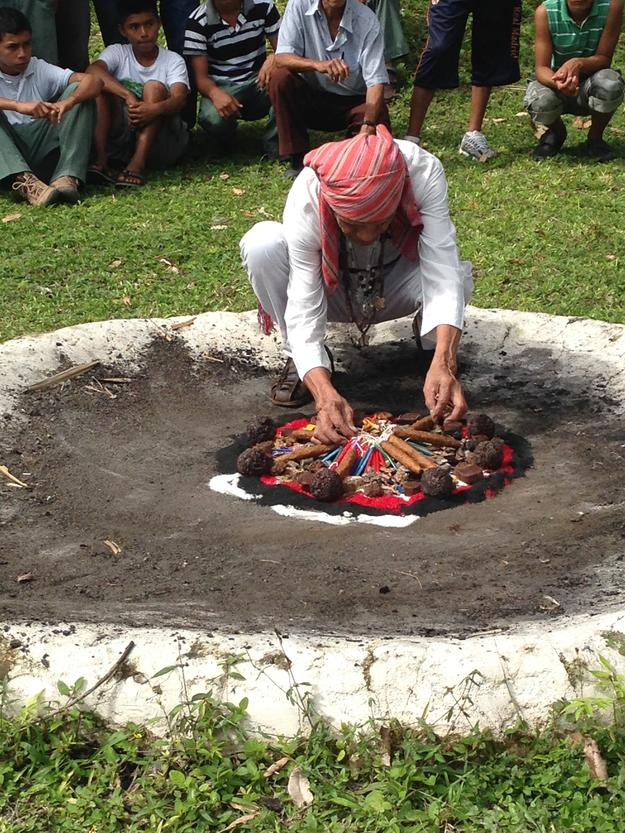 A Mayan ceremony was part of Watch Day, May 2014