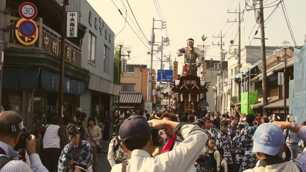 Sawara matsuri (traditional festival)