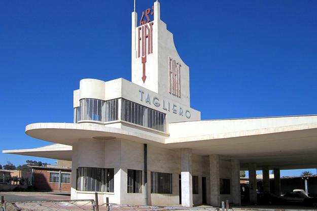 Fiat Tagliero Building, Asmara. Photo: David Stanley for Wikimedia Commons