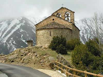 Hermitage of Sant Quirc de Durro