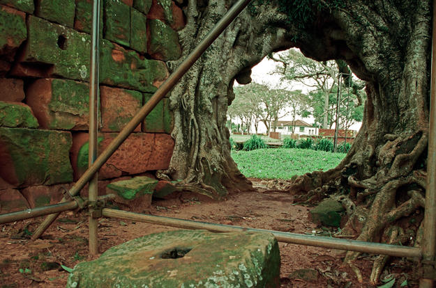 View from the interior of São Nicolau in Brazil, 2002