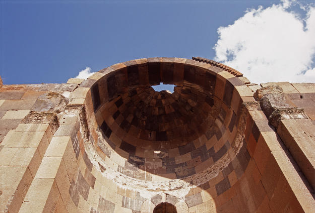 View of the dome from below, 1995