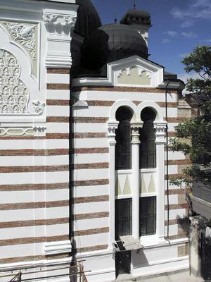 South façade, 2004