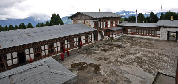 The monastic school and administrative offices, 2010