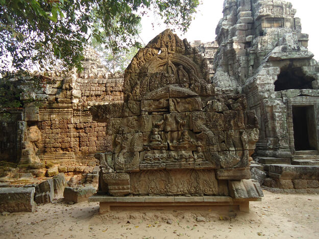 South Gopura I after reconstruction, 2008
