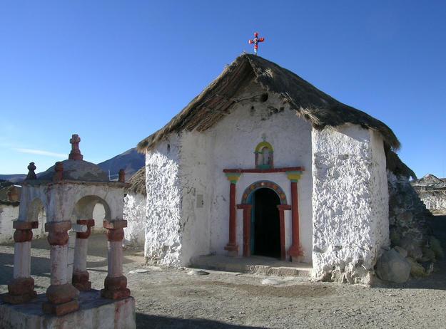 Façade of Iglesia de la Virgen de la Natividad, 2008