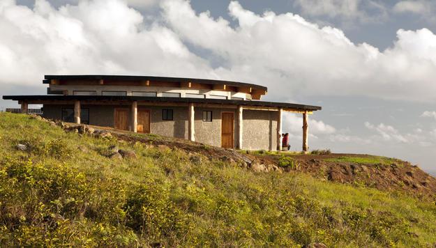 The Centro de Recepción de Visitantes de la Aldea Ceremonial de Orongo, 2011