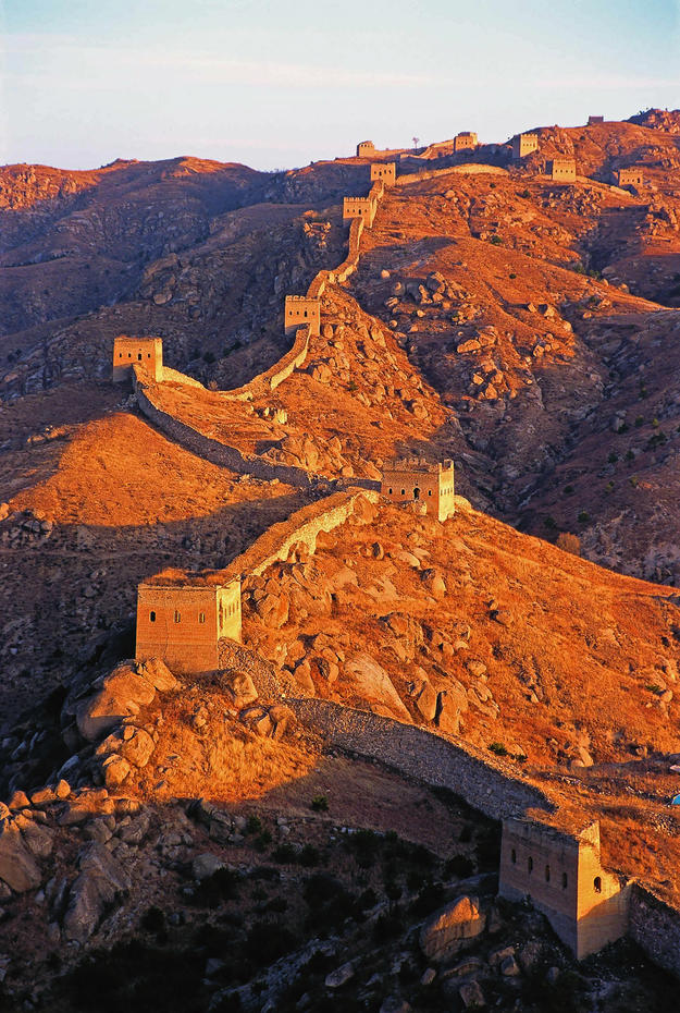 The Great Wall at sunset, 2000