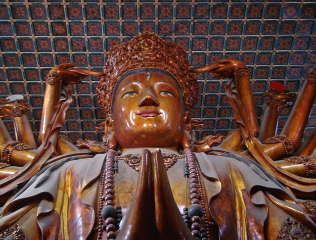 A Mahayana Buddha depicted as Avalokitesvara, 2003