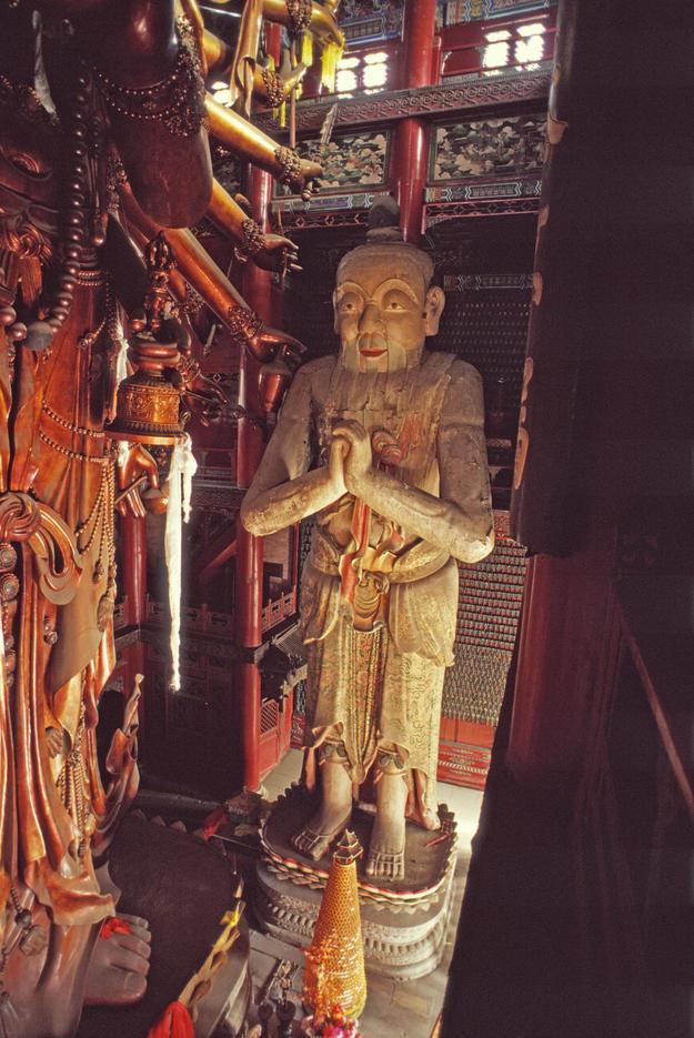 The Buddhist Boy statue, 2002