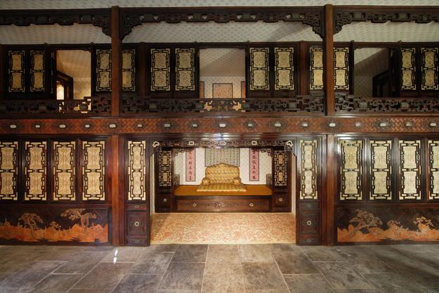 Interior of Juanqinzhai, after conservation, 2008