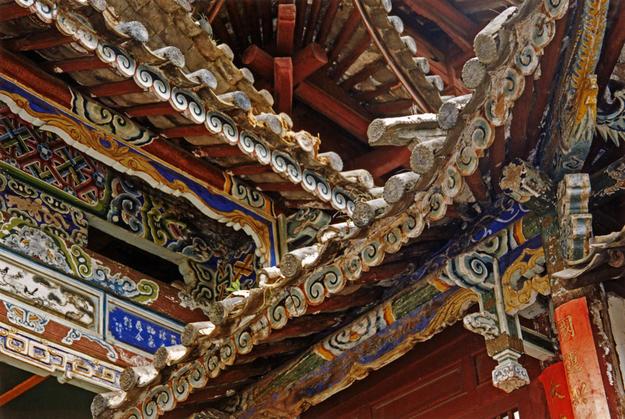 Decorative ceiling detail, 2002